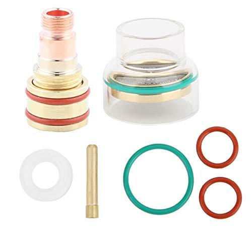 Kit de soldadura TFM53NCN TIG Collar de vidrio de antorcha de soldadura para WP17/WP18/WP26(2.4mm)
