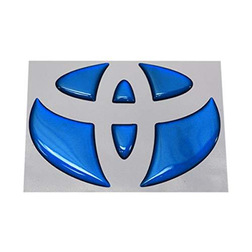 BATBERRY ドーミングエンブレム トヨタ メタリックブルー ランドクルーザープラド 150系 リアエンブレム リヤ用 メタリックカラー 1個