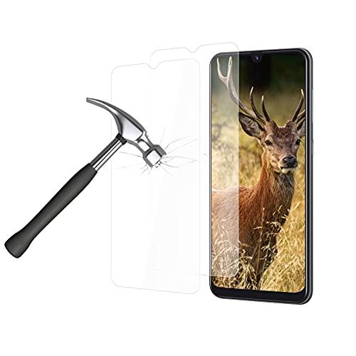 HOOKEY [2 Stück] Panzerglas fur Samsung Galaxy A50, 3D HD Klar 9H Härte Displayschutzfolie Anti-Fingerabdruck Blasenfrei Gehärtetes, UltraKlarFolie Schutzfolie Kompatibel mit Samsung Galaxy A50