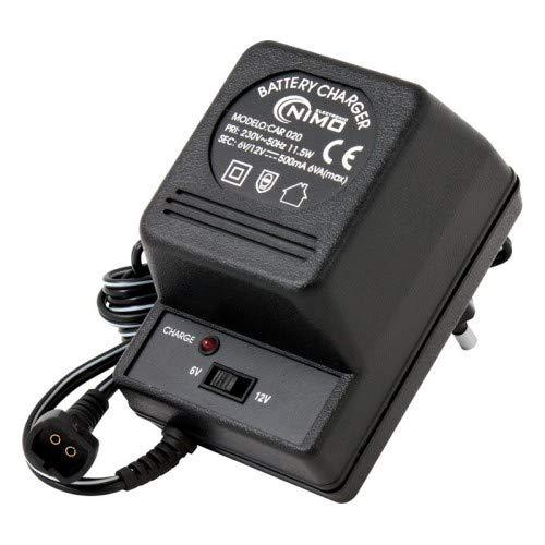 Oplader voor loodaccu's 6 V en 12 V
