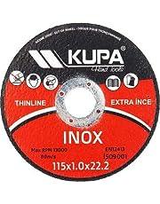 Kupa İnox Kesici Daire Testere 115 mm. - Metal, Çelik, İnox