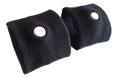 Lot de 4 bracelets anti-nausée pour le mal des transports/mal de mer/nausées matinales
