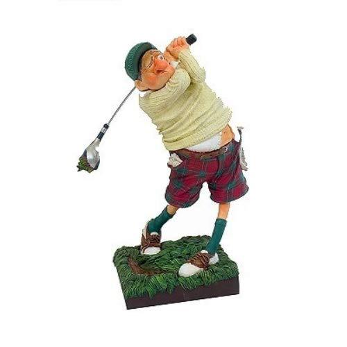 Unbekannt Guillermo Forchino fo85504Figur der Golfspieler, Kunstharz, Mehrfarbig, 30x 13x 38cm