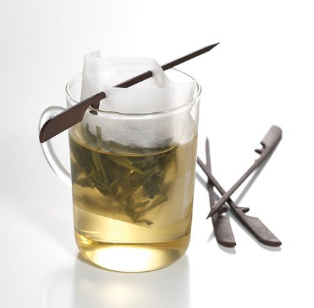 100 Tea & Coffee Filter Papers + 1 Stick, One Cup Size. by Simpli-Special Strainers and Infusers