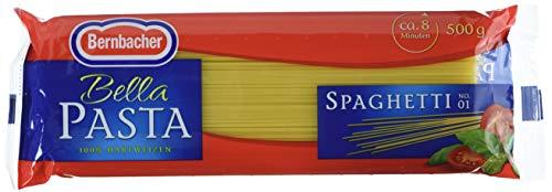 Bernbacher Bella Pasta 500g - Spaghetti, 5er Pack (5 x 500 g Beutel)