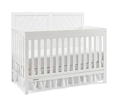 Fisher-Price Glendale 4-in-1 Convertible Crib, Frost White by AmazonUs/BIVOD