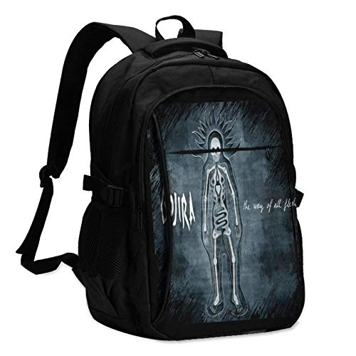 Gojira Laptop Backpack with USB Charging Port, University, School, Backpack, Student Bag, Casual Backpack, Male and Female Travel Backpack, Teachers Only