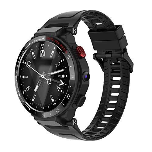 DYYAN Reloj Inteligente de 1,6 Pulgadas 1 + 16GWiFi Deportes Posicionamiento para Adultos Reloj 4G Batería de polímero de 800 mAh Tarjeta SIM incorporada Admite Llamadas
