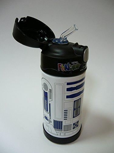 『THERMOS サーモス Star Wars スターウォーズ R2D2 R2-D2 ストローボトル 真空断熱 水筒 355ml』の4枚目の画像