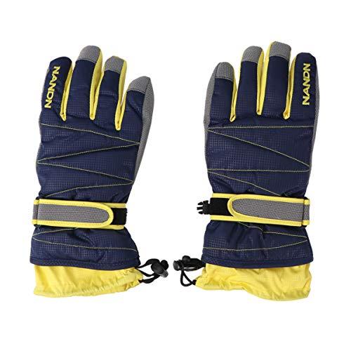 IMIKEYA Sneeuw Winter Handschoenen Super Warm Waterdicht Winddicht Lange Manchet Handschoenen voor Snowboarden Fietsen