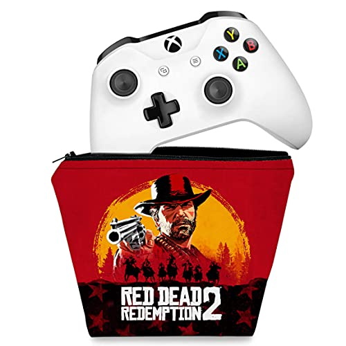Capa Xbox One Controle Case - Red Dead Redemption 2