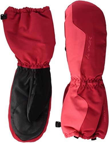 VAUDE Kinder Handschuhe Snow Cup Mitten III, bright pink, 4, 05263