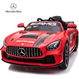 Baybee Mercedes Benz Electric Ride on Car for Kids with Rechargeable 12V Battery