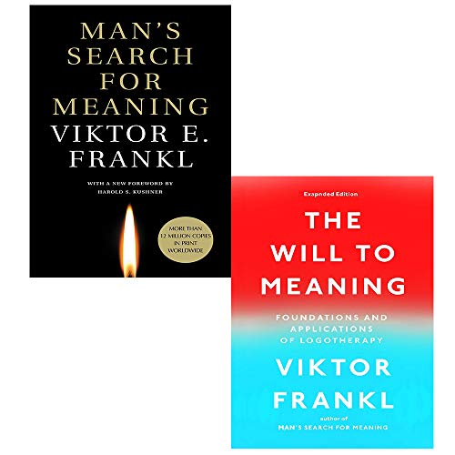 Viktor E Frankl 2 Books Collection Set (Man