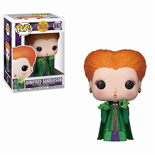Pop! Figura de Vinilo: Disney: Hocus Pocus - Winifred w/Magic