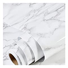 🍀SELF-ADHESIVE & REMOVABLE🍀:Peel off the adhesive liner and stick to any dry, flat surface. PVC material, smooth surface, easy to clean, self-adhesive 🍀MULTI-USAGE & DECORATIVE🍀:Suitable for covering any size cabinets, smooth countertops, notebooks, ...