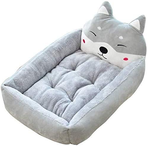 Lavable perro de la jerarquía del animal doméstico de la perrera de la perrera de arena para gatos sofá-cama colchón sofá cojín del sueño alimentos para mascotas,XL-1