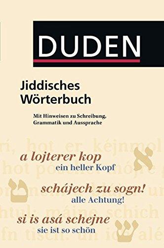 Duden Taschenbücher, Bd.24, Jiddisches Wörterbuch