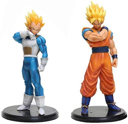 2020 Nuevo 22 cm Ball Dragon Ball Z Goku Vegeta Figura de acción PVC Colección Modelo Juguetes Brinquedos Juguetes para niños