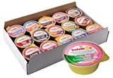 Indalitos - Crema de Jamón York y Queso - Bandeja 30 Monodosis de 25gr
