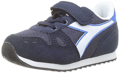 Diadora Simple Run PS, Scarpe da Ginnastica, Blue Corsair, 32 EU