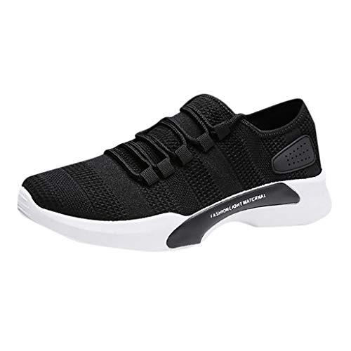 Zapatillas de Deportivos de Running para Hombre Calzados Casuales versátiles Color sólido...