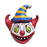 Newest Easter Day Funny Cute Mask,Colorful Latex Masks Cosplay Costume Clown Accessories Match with Fancy Dresses,Perfect Funny Gift for Circus or Carnival Themed Party Decoration Props