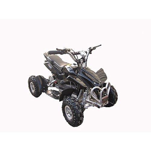 AIREL Mini Quad Elektro Kinder | MiniQuad | Miniquad Elektromotor | Kinder Quad Elektro | Moto Quad 4 Rollen Schwarz