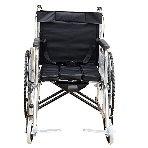 Nayayar Rollstuhl, behinderter Roller, der überzug-Toilette-tragbaren Rollstuhl faltet Alter Roller-Rollstuhl