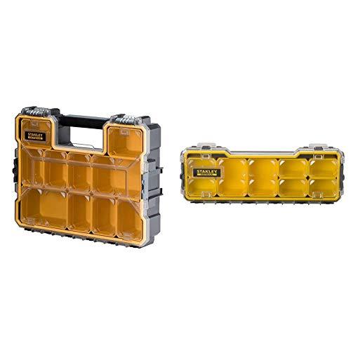 Stanley 1-97-518 Organizer Porta Minuteria PRO, Alta, Cerniere in Metallo & FMST1-75781 Organizer Porta Minuteria, 1/3