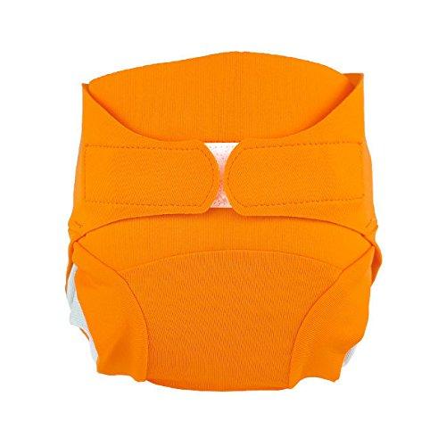 Couche lavable - réutilisable Hamac saine pour bébé et l'environnement - Coloris : Abricot - Taille L (9-17 kg)