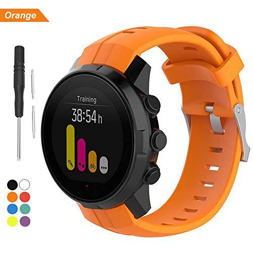 Bemodst Band voor Suunto Spartan Sport Series Smartwatch, Vervangende Accessoires Siliconen Horloge Polsband Armband voor Suunto Spartan