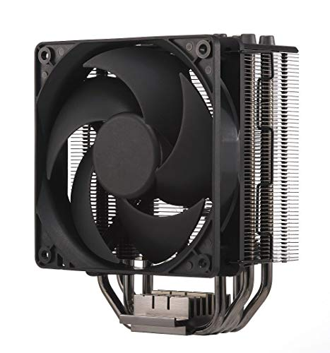 Cooler Master Hyper 212 Black Edition - stil, strak en precies, 4 direct touch heat pipes met koelvinnen, Silencio FP120mm fan