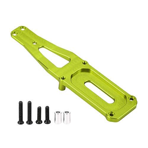 RC Car Shocks Tablero de metal del amortiguador frontal para los juguetes de WL 1/12 Electric 4WD COCHE 12428/12423/12628 Camión Coche RC Part J0J Rustler 4x4 VXL actualizaciones ( Color : Gre