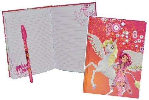 alles-meine.de GmbH 2 TLG. Set: Tagebuch / Notizbuch Mia and Me - mit Stift - Pferde Einhorn Schmetterling Magic Mädchen Pferd Tier