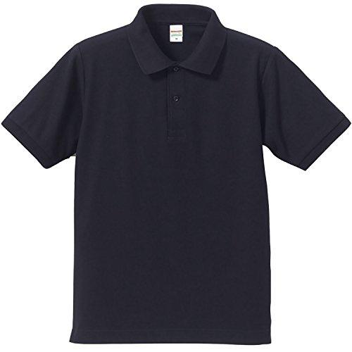 UnitedAthle ポロシャツ メンズ 5.3オンス ドライ カノコ Ut シャツ Monoa オリジナル ブレスセット ネイビー L