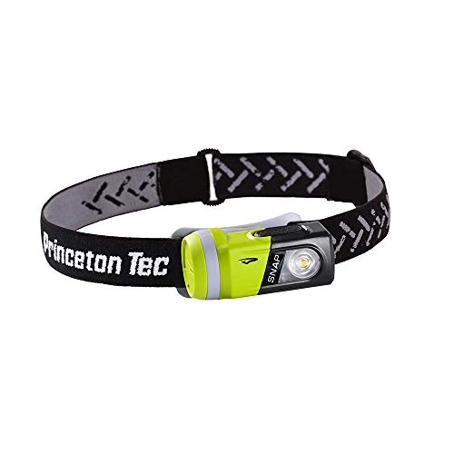 Princeton Tec Outdoor Sports SNAP Industrial Stirnlampe, 200 Lumen, Grün