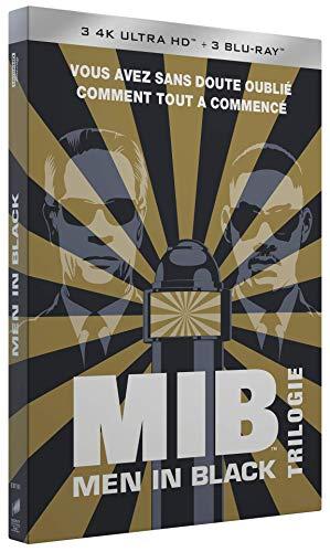 Men in Black-Trilogie [4K Ultra HD + Blu-Ray + Digital + Cartes Postales + Porte-clés]