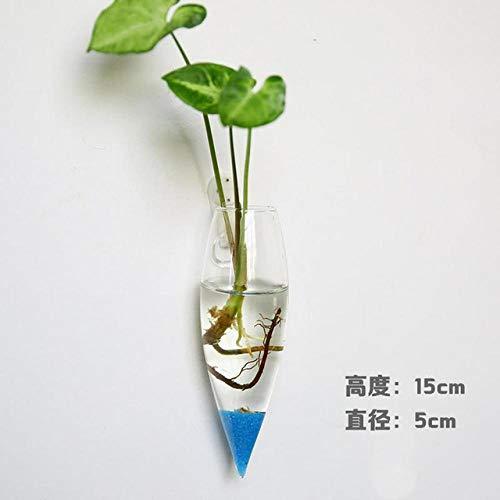 Vase Kreative Mode Wandbehang Blumenvase Transparentes Aquarium Aquarium Behälter Glasflasche Garten Wohnkultur Zubehör 9