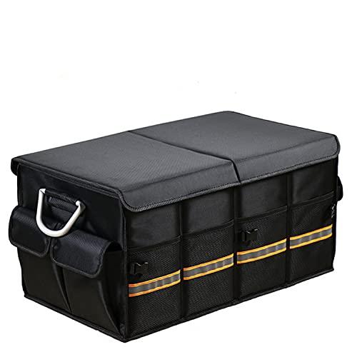 Caja Plegable para Coche,bolsilleros furgoneta,caja maletero coche,Organizador de Maletero para Coche,gran maletero plegable,caja maletero coche,organizador de maletero,(grande,camuflaje)