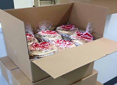 BOX 24 Bags (12oz) of P-Tabun Fresh White Pita Bread- 6 PITAS EACH BAG
