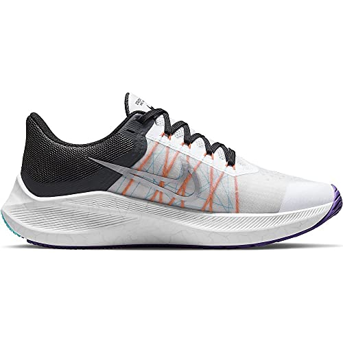 Nike Winflo 8 - Zapatillas de correr para mujer, color blanco, color, talla 39 EU