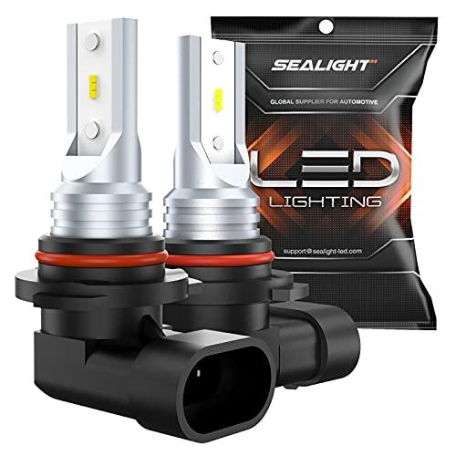 SEALIGHT 9145 H10 LED Fog Light Bulbs 9140 9045 9040 PY20D LED Replacement 6000K...