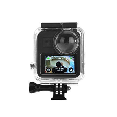 Taoric Waterdichte Behuizing Case voor Gopro Max Action Camera, Onderwater Duiken Beschermende Shell 30M met Beugel Accessoires