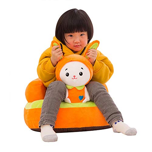 Find Bargain Jeterndy Learning to Sit On The Sofa Infant Support Seat Sofa Kids Cartoon Animal Plush...