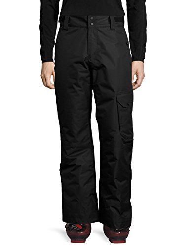 Ultrasport Herren Advanced Cargo Skihose, Schwarz, L