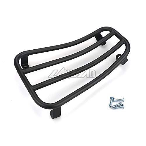 Felicey Perfectly applicable Motorcycle Foot Rest Luggage Rack Case Shelf Holder Black for Pia.ggio Ves.pa Sprint Primavera 150 2017 2018 2019 Accessories Stylish Design