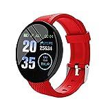 Fitness Tracker pour hommes Femmes Moniteur de sommeil Moniteur dactivité avec pression artérielle oxygène sanguin, Smart 1.3inch Full-Touch, compteur de calories étanche pour téléphones Android iOS