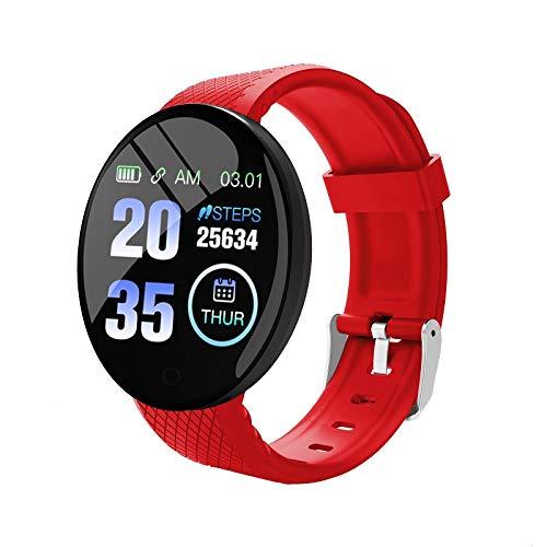 Monitor de actividad física monitor de sueño monitor de actividad con presión arterial oxígeno sanguíneo pulsera inteligente B28 con fotografía contador de calorías impermeable para mujeres hombres…