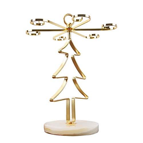 Árbol De Navidad De Jade Portavasos Decoración hogareña (Color : A-33 * 26cm)